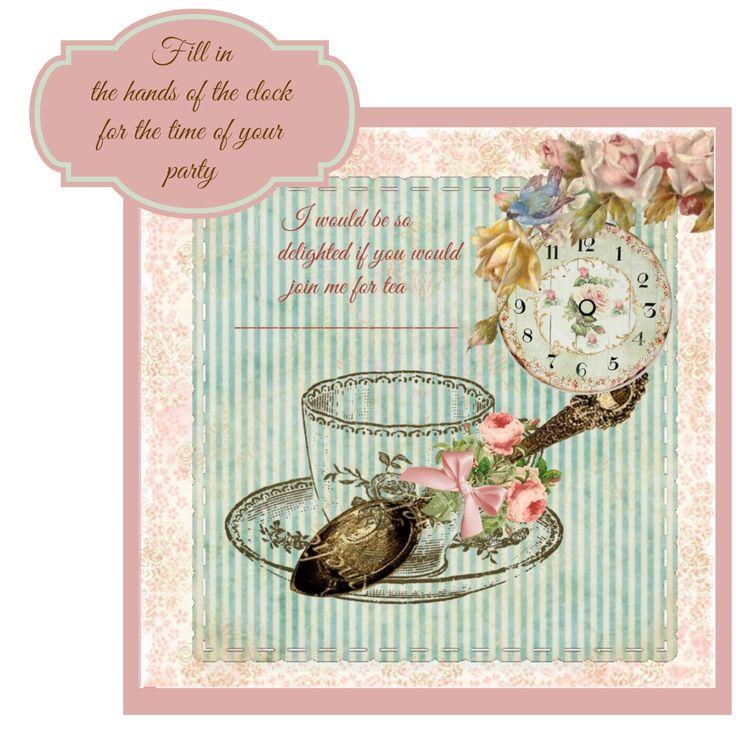 kitchen tea invitation templates free download archives