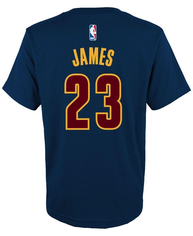 adidas Kids' LeBron James Cleveland Cavaliers Player T-Shirt
