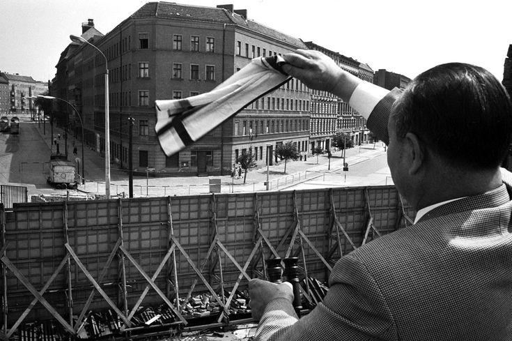 Berliner Mauer im August 1967