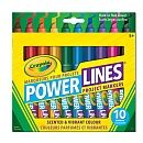 """Crayola - 10 ct Power Lines Washable Scented Project Markers - Crayola - Toys""""R""""Us"""
