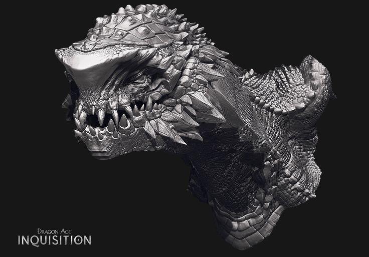 Frost Dragon, Patrik Karlsson on ArtStation at https://www.artstation.com/artwork/frost-dragon-3f0e5f84-0ccc-4ad9-b1e3-b612265c4269