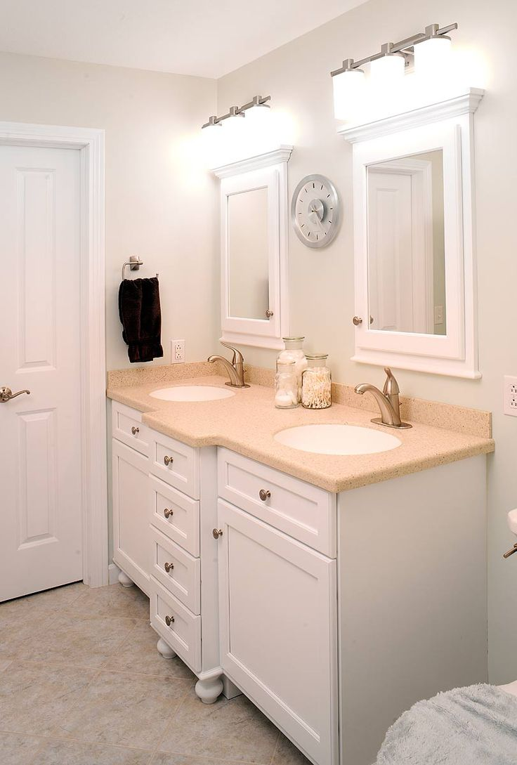 Lapierre cabinetry custom home theater cabinets bathroom cabinets - Vanity With Two Sinks