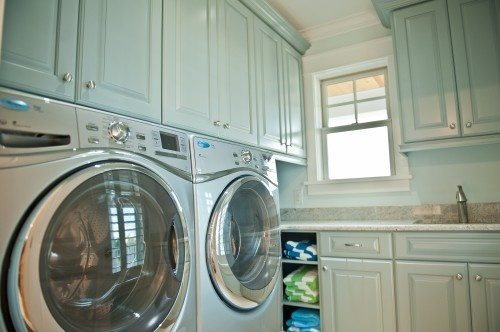 color: Laundry Rooms Cabinets, Cabinet Colors, 40Th Street, Cabinets Color, Laundry Rooms Mudroom, Paintings Color, Photo, Blue Laundry, Laundry Rooms Color