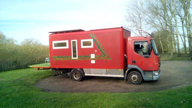 4 Super Red Truck Self Build Box Van Motorhome Conversion