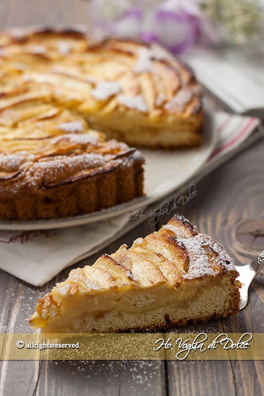10 images about torta di mele on pinterest strudel for Crostata di mele