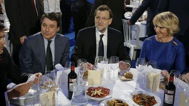 """Ignacio González a Eduardo Zaplana: """"Rajoy quiere superar a Franco en la Presidencia del Gobierno"""""""