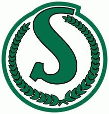 Love the older Saskatchewan Roughriders logo!
