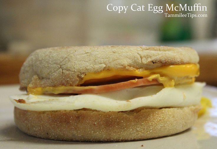 Copy Cat Egg McMuffins with the Hamilton Beach Sandwich Maker