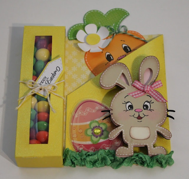 Cartridge - Create a Critter ... cute idea for a tag on an Easter page!
