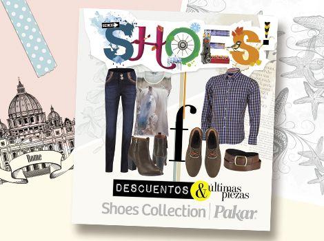 Catálogo descuentos Shoes Collection Pakar Otoño invierno 2014.