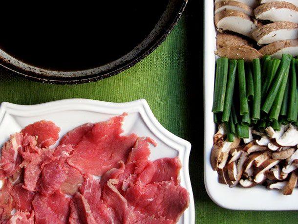 Traditional Sukiyaki. (Japanese Beef Hot Pot). I love Sukiyaki, it's delicious, and easy to make.