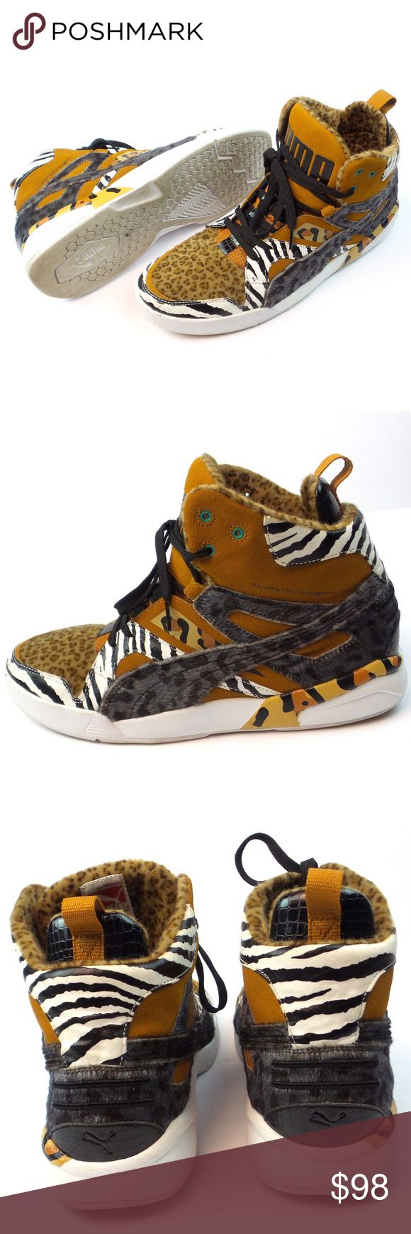 PUMA Sneakers Future Trinomic Slipstream Loapard PUMA Men's Sneakers 355657-01 Future Trinomic Slipstream Loapard Size 12 Puma Shoes Sneakers