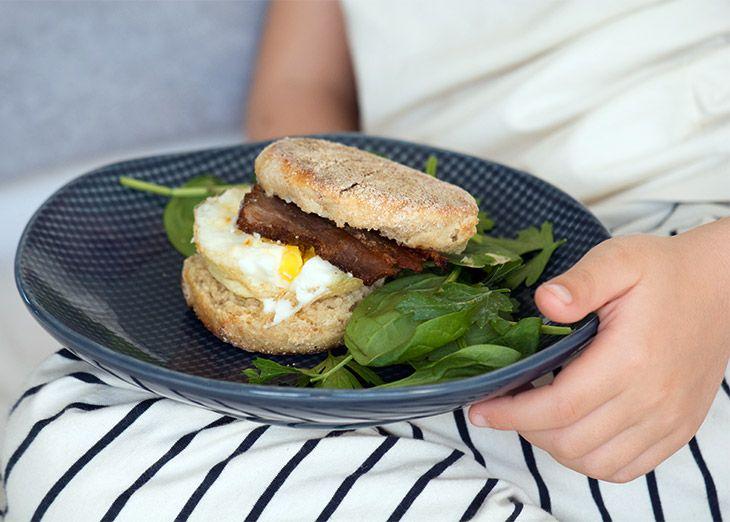 English Breakfast Muffins ➙ Opskrift fra Valdemarsro.dk