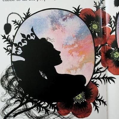 """Illustration from Jan Pienkowski's """"The Fairy Tales"""""""