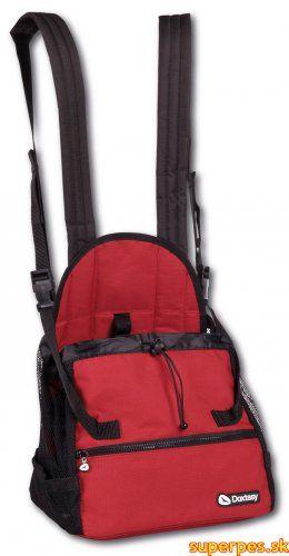 Doxtasy Front Carrier Red SMALL - vak na psa červený