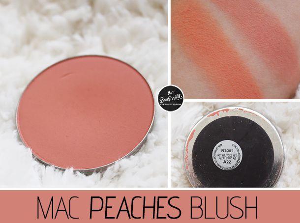 Review: MAC Peaches Blush - The Beauty Milk