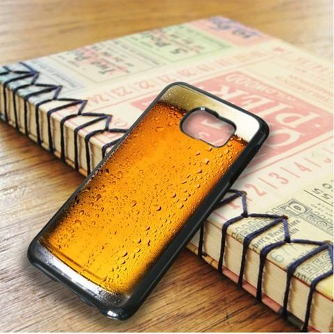 A Glass Of Beer Get Drunk Samsung Galaxy S6 Edge Case