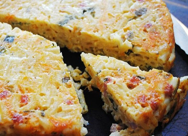 Good Food - Macaroni Slice recipe