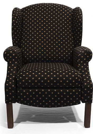 Shop For The Star HomeSpun Push Back Recliner At Saugerties Furniture Mart    Your Poughkeepsie, Kingston, And Albany, New York Furniture U0026 Mattress  Store