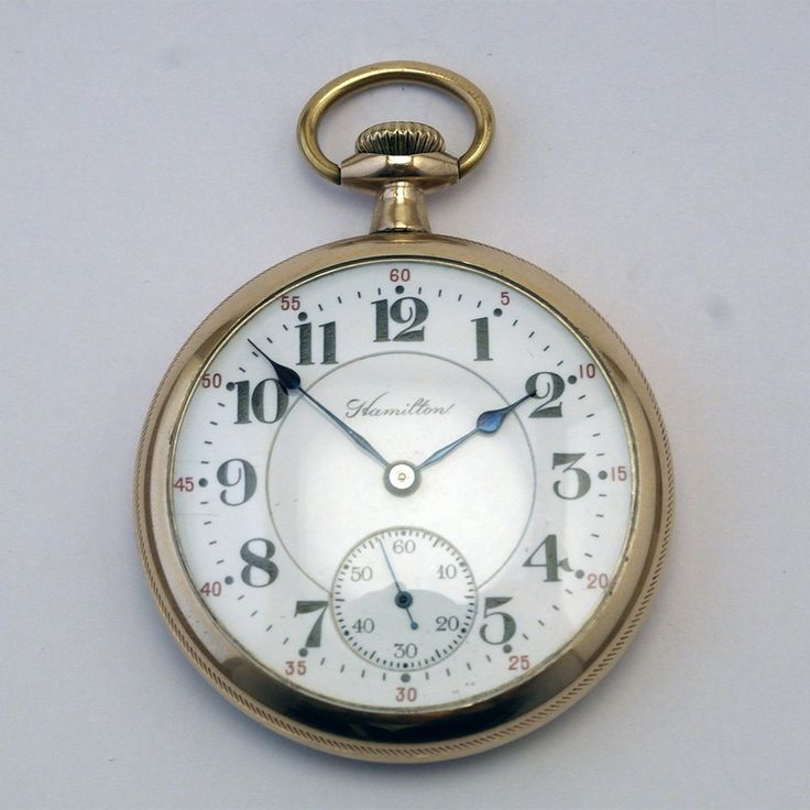 Hamilton pocket watch from 1916 via MarCels. Click on the image to see more!