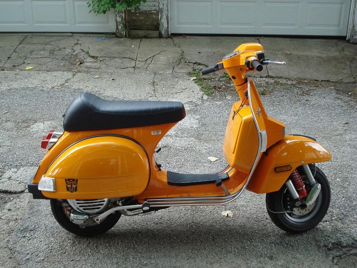 Modern Vespa : Show your P200, stella, PX thread
