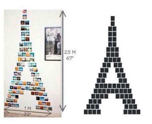1000 ideas sobre decoraci n de torre eiffel en pinterest for Formas de decorar mi cuarto