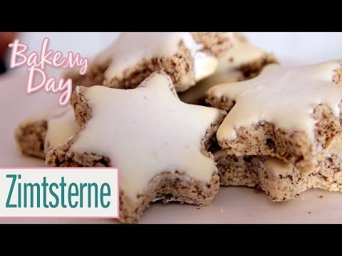 Zimtsterne | BakeMyDay - YouTube