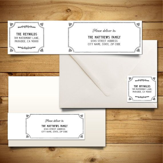Best Address Labels Images On   Address Label Template
