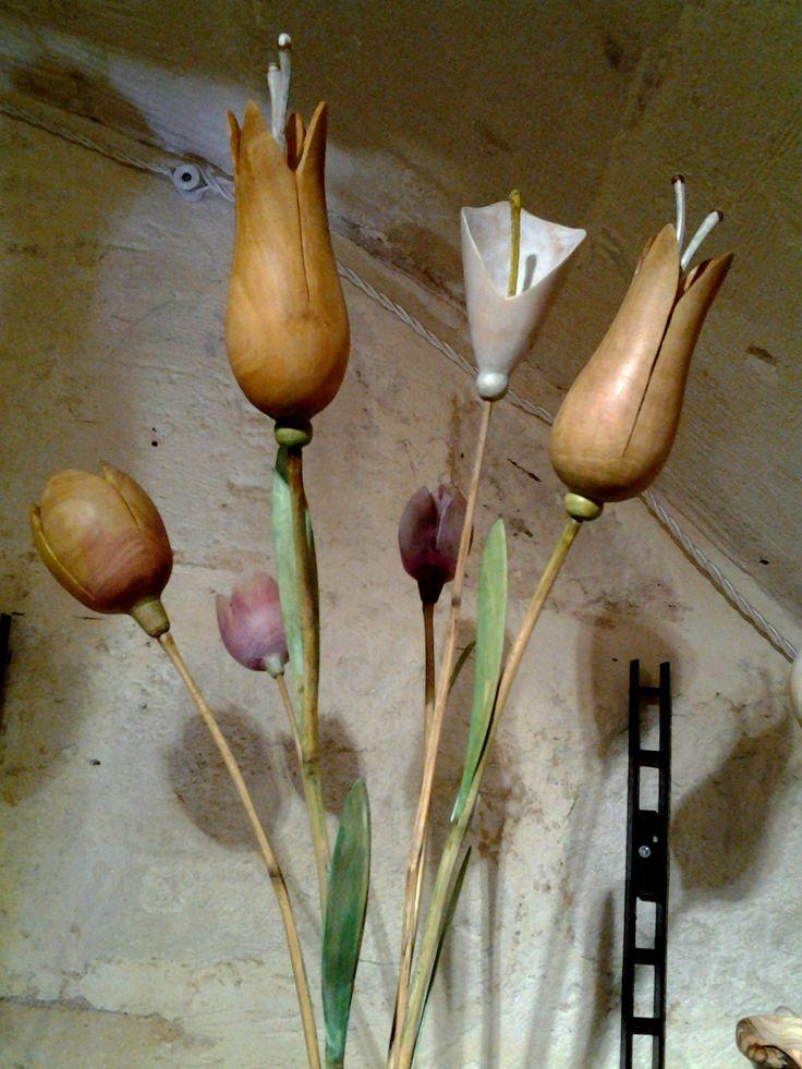 #legno #fiori #flowers #fleurs #arredamento #home
