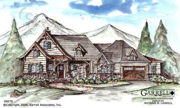 Hot Springs Cottage Ii House Plan 09075 Front Elevation