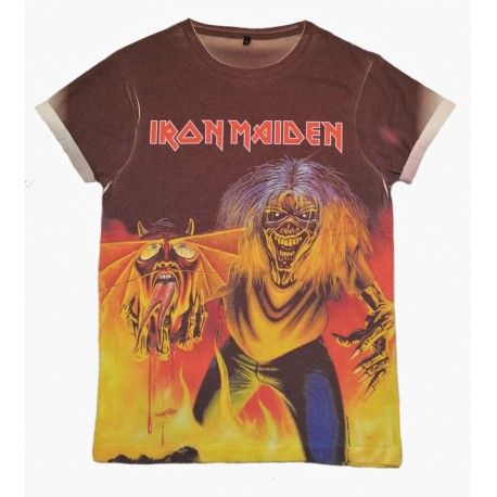 Tricou Allover Iron Maiden: The Number Of The Beast