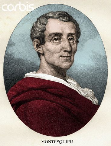 """Baron de Montesquieu: one of the greatest philosophes, who pioneered his approach in """"The Persian Letters."""" This work consisted of amusing letters supposedly written by Persian travellers. He saw relations between men and women as particularly representative of overall social and political systems. He was inspired by the example of physical sciences and he set out to apply the critical method to the problem of the government in """"The Spirit of Laws."""""""