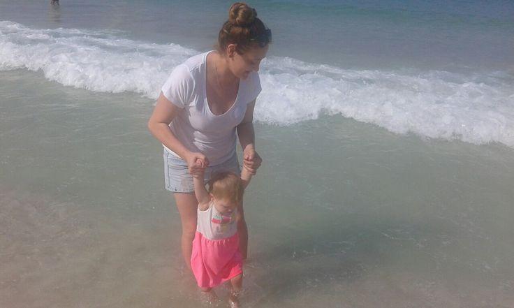 Children on the beach!