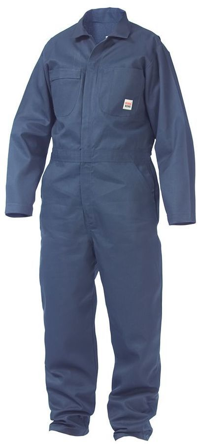 Big & Tall Work King Unlined Twill Coveralls
