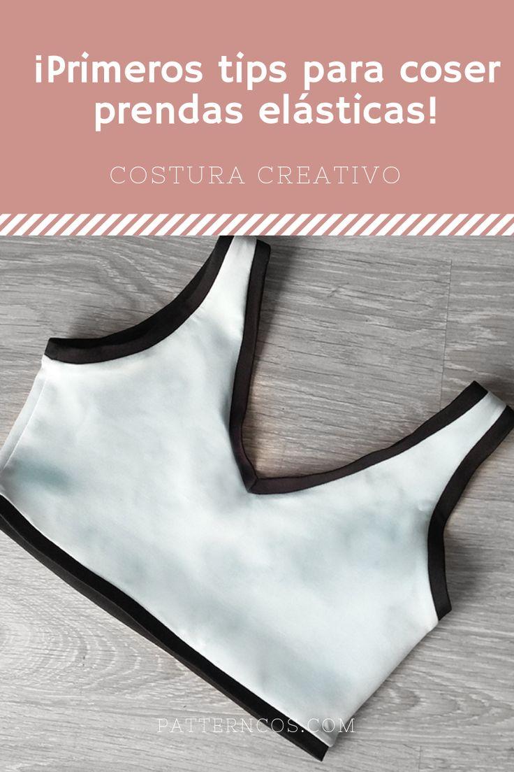 Cómo coser telas elásticas