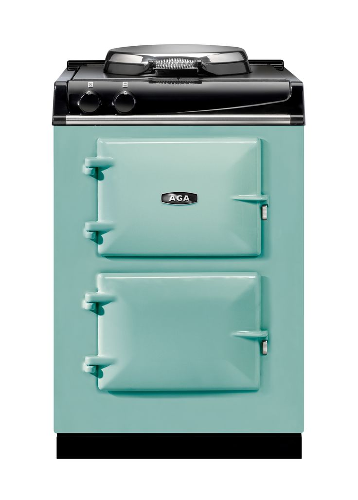 The Aga city 60 (traditional styled) in Pistachio For more info - http://www.cookercentre.com/aga/aga-city-60