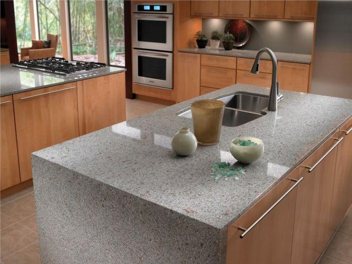 Die besten 25+ Granit küchenarbeitsplatten Ideen auf Pinterest - granit arbeitsplatte küche