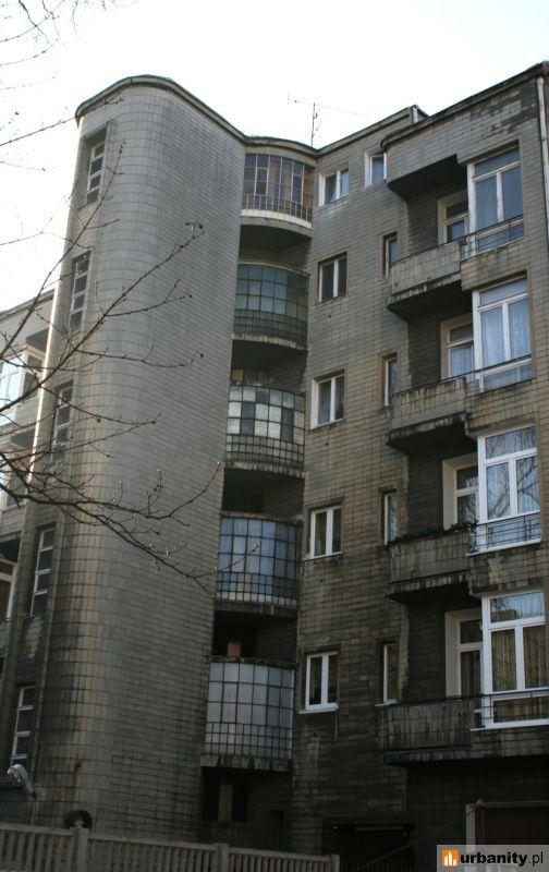 House at 56 Kościuszki Street in Lodz, 1937-38, project by Ignacy Izzak Gutman
