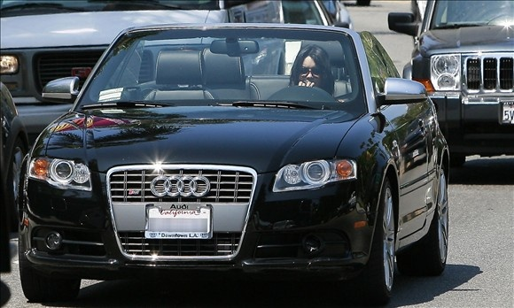 Vanessa Hudgens has brand loyalty to Audi