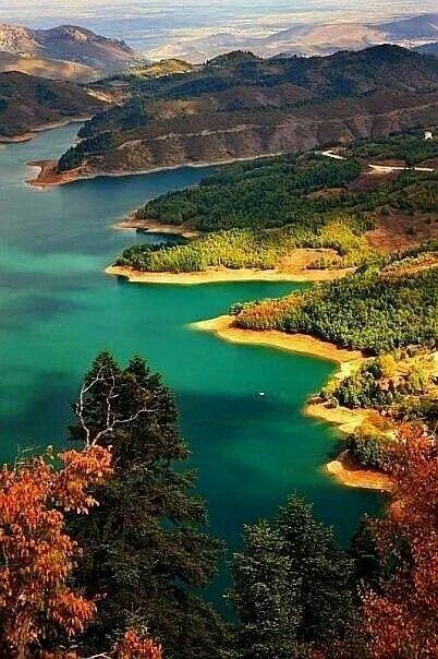 Plastira lake, Greece