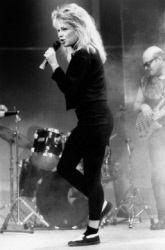 France Gall (1947-2018), chanteuse française. France, 1988.