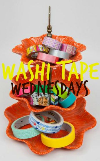 #papercrafting inspiration: #WashiTapeWednesdays is our newest offering and we want YOU to join us! We'll be sharing ideas for using your #washitape stash, resources for adding to your #washi collection, and washi #organizing ideas and #storage solutions. Join in & invite your #craft friends!