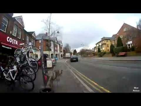 Jogging Cam - Bourne End to Flackwell Heath and back. - YouTube