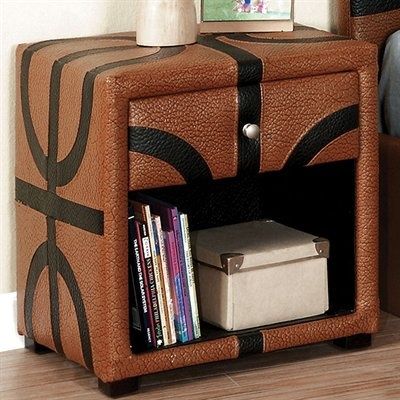Furniture Of America Basketball Themed Designed Nightstand By