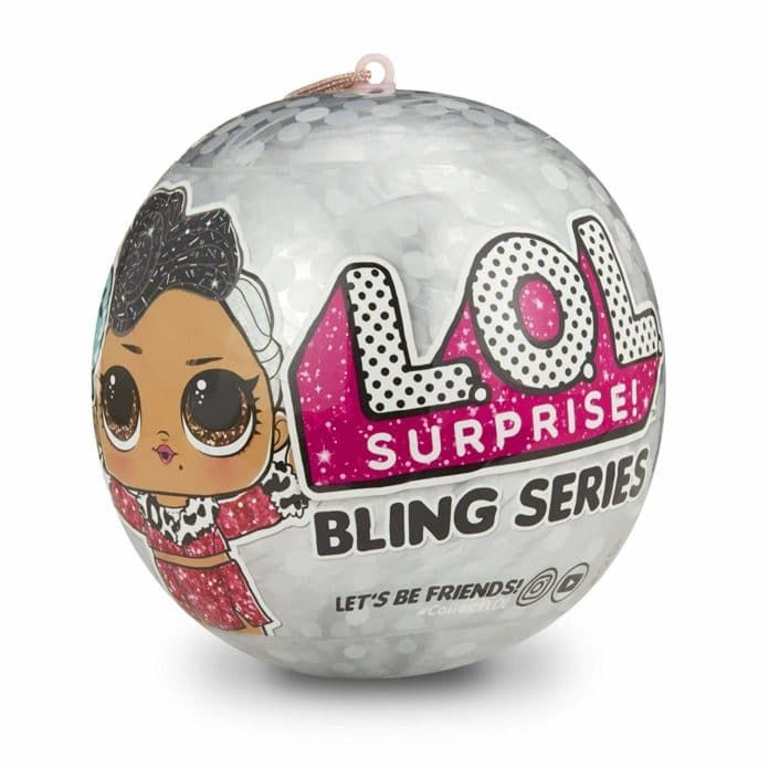 SPARKLE Series Doll Bling Glitter Ball Sparkles NEW Set Of Two LOL Surprise 2