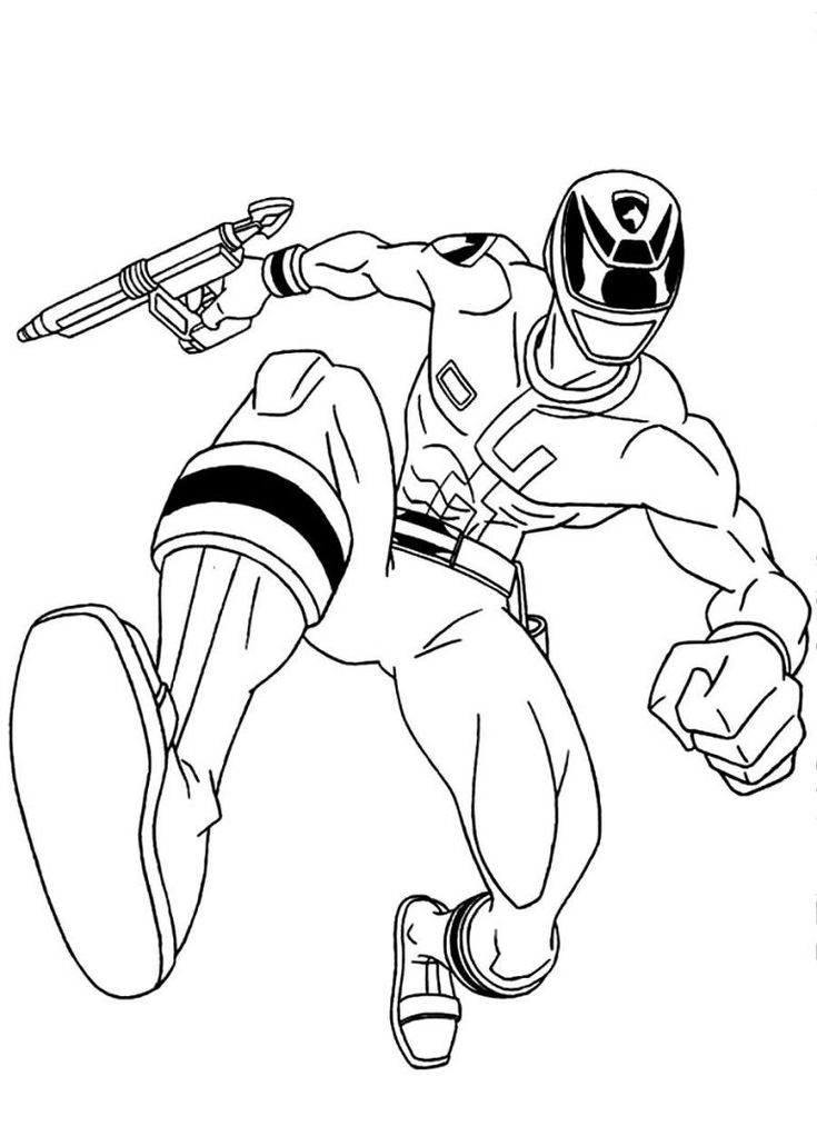 Printable Power Rangers Coloring Pages AZ Coloring Pages ...