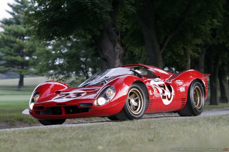 SUPERCARS.NET - Image Gallery for 1967 Ferrari 330 P4. KEEP FOR REFERENCE...MANY RACE CAR BRANDS. Supercars s..s