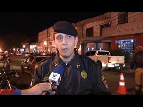 Policia Militar realizou Operação Tiradentes com Blitz em Campo Mourão
