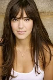 Image result for bangs for oval face and small forehead