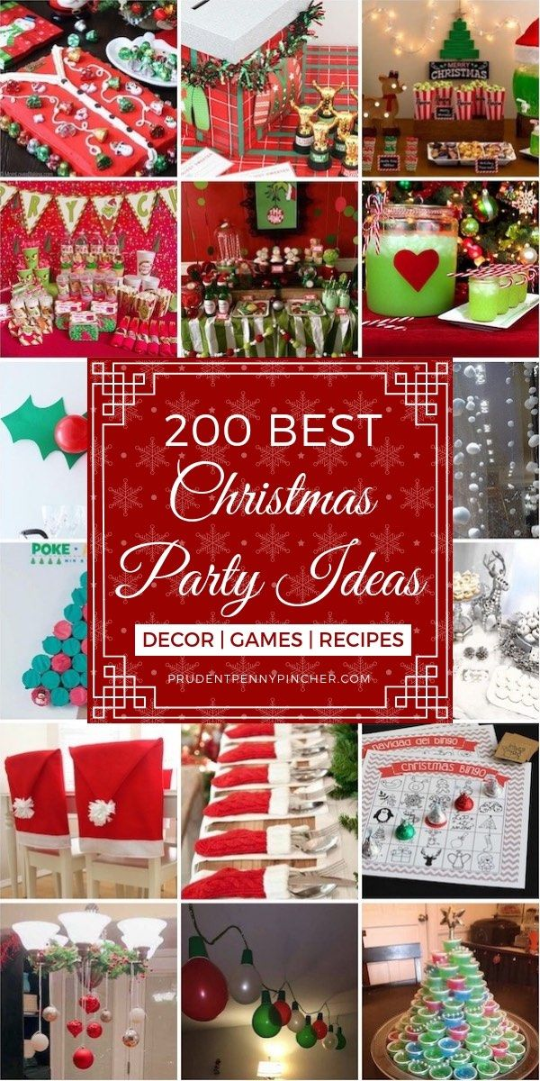 200 Best Christmas Party Ideas Office Christmas Party Christmas Fun Christmas Party